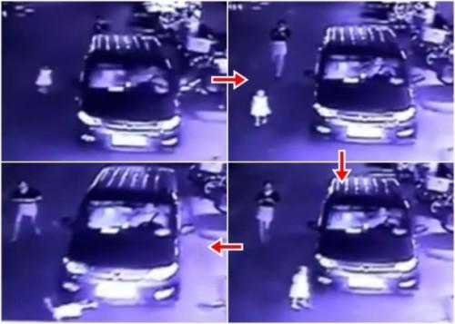 湖南岳阳有家长只顾玩手机,任由女儿在马路行走,导致女儿惨死。