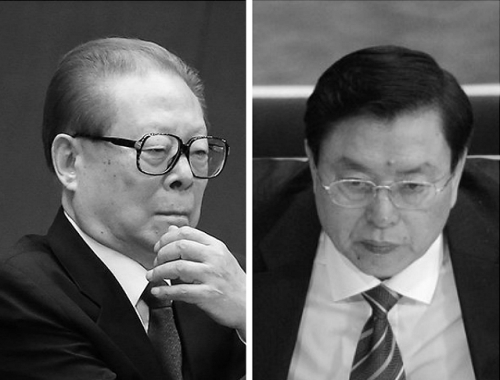 《成报》:江泽民退而不休 张德江全国人大搅局(图)