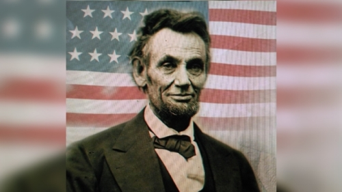 【东方纵横 】林肯当年连任时(图)