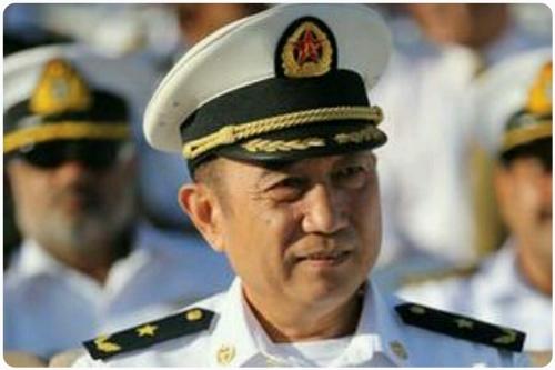 中共军队高层大换血 海军中将任南部战区司令(图)