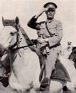 国军将帅在中国大陆的威武英姿