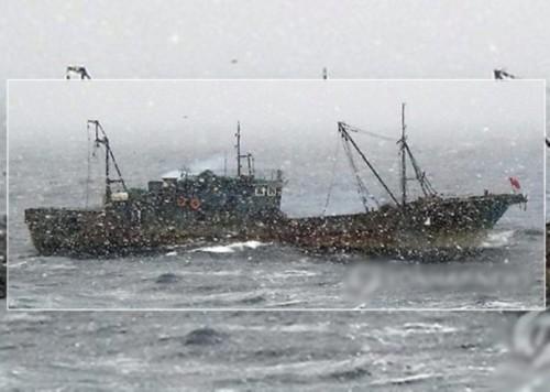 中国渔船闯韩国领海非法捕捞 遭扣押重罚3亿(图)