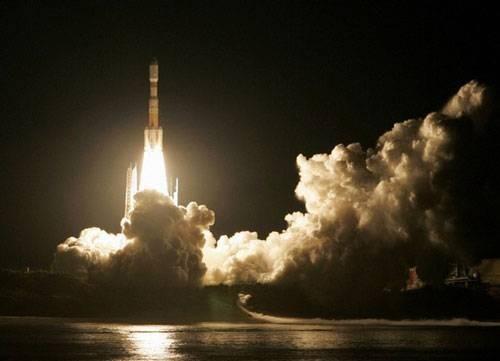 全球最小运载火箭 日本发射失败坠海(图)