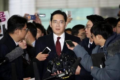 韩国检方寻求逮捕三星太子李在镕(图)