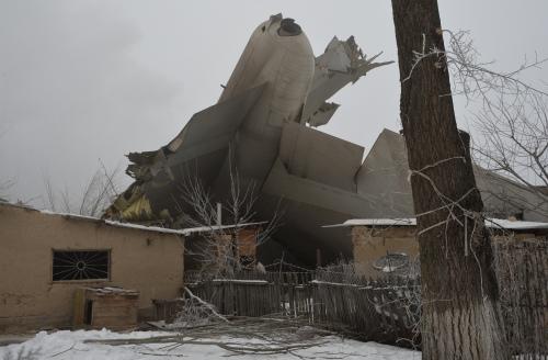 土耳其货机坠地 撞毁多栋房子37死(图)
