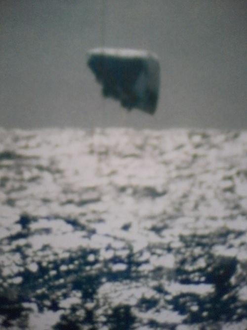 美国海军潜水艇拍到的真实UFO照片(组图)