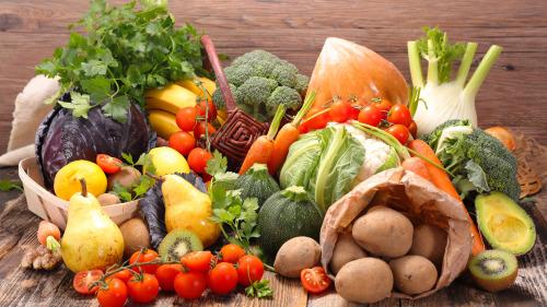 这些蔬菜水果都是每天需要的,不要漏喔!