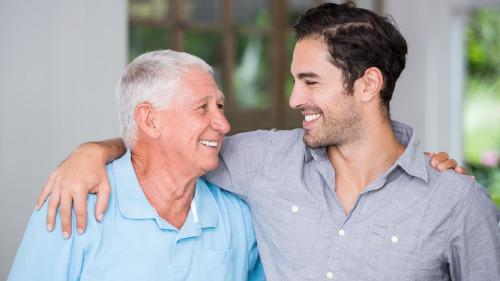 爸爸和儿子分享自己对于婚姻的理解