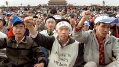"""""""六四是现在进行式""""台湾诉求""""捍卫人权""""(图)"""