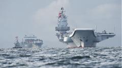 中国加紧建造航母海上称霸仍相距甚远(图)