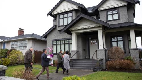 这是孟晚舟温哥华私宅,获假释后仍住在这里。