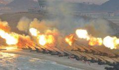 威胁巨大:朝鲜常规火炮可造成25万韩国人伤亡(图)