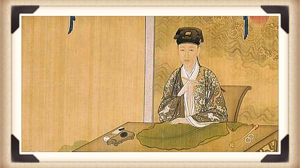 弘历(少年乾隆皇帝)容貌清秀,敏捷得体,具有与众不同的灵气与沉静。