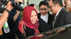 涉暗杀金正男的印尼女子获当庭释放(视频)