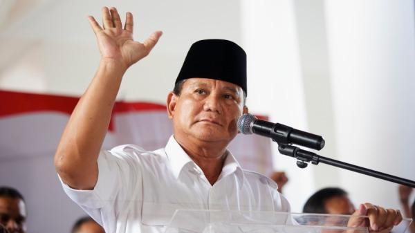 印尼總統候選人普拉伯沃(Prabowo Subianto)