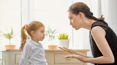 妈妈说话别带刺容易伤害小孩心灵(图)