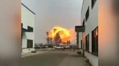 爆炸化工厂安全许可证早过期民众批政府草菅人命(图)