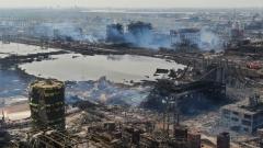响水大爆炸:中国官方证实苯污染超标(图)