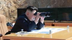 百万分之一卫星捕获到朝鲜最新导弹发射的时刻(图)