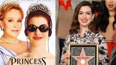 麻雀变公主开星路安海瑟薇获好莱坞专属星星(视频)