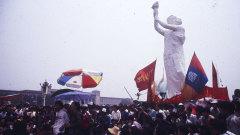香港六四亲历者:坚持说出真相直到中国民主(图)