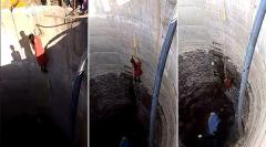 生死边缘游走妇女搏命取水只为孩子和家人(图)