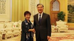 洪秀柱赴北京呼应唱和台方:不能代表台湾民意(图)