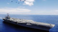 美国向伊朗派出航母为何没派航母去委内瑞拉(图)