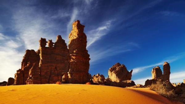 传说中,罗马帝国克拉苏将军的大军,穿越沙漠逃往中国。