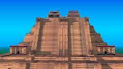 """阿兹特克神庙的""""星球大战""""石刻(图)"""