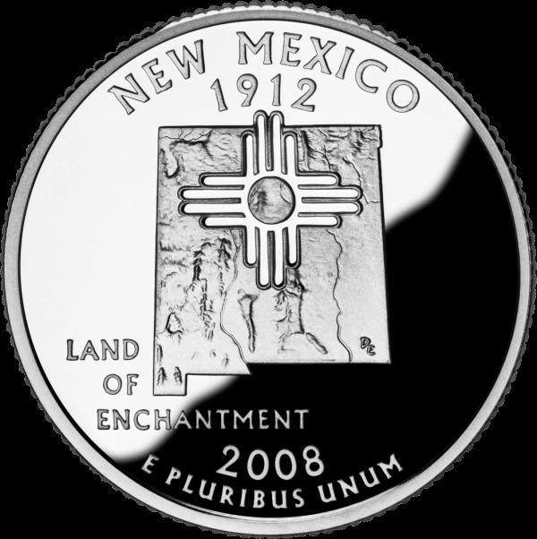 新墨西哥州纪念币