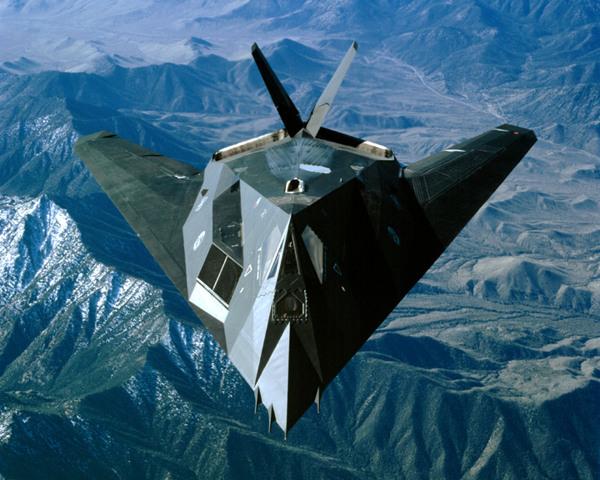 美国F-117隐形战机