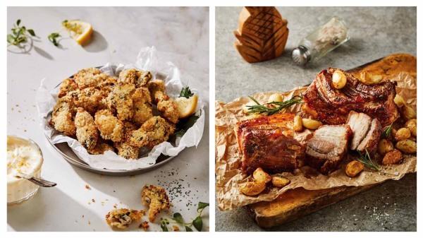 简单美味的气炸锅食谱:炸牡蛎和烤五花肉(组图)