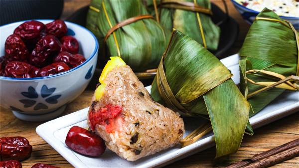 粽子清热解暑益气安神 搭配它食用促进消化(组图)