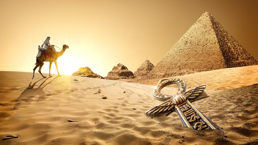 古埃及人科技太惊人 难道跟外星人学的?(组图)