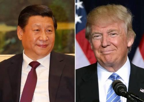 """川习会期间,川普向习近平解释了美国在韩部署""""萨德""""上的立场"""
