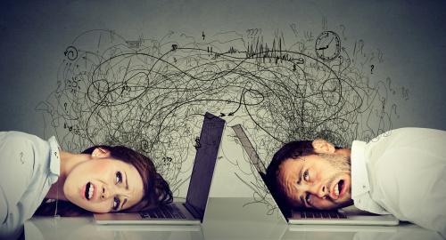 较高智商的人比那些中等智力水平的人更容易焦虑