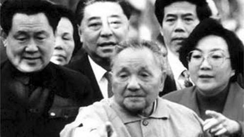 鄧小平南巡被刪一段話曝光:江澤民要封鄧的口。