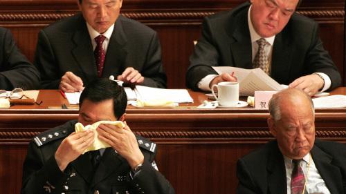 """近年反腐曝光,中央党校集中培训出来的多是既贪且淫的""""大老虎""""。"""