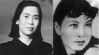 毛讓步,同意賀子珍(左)回身邊,江青(右)跑到周恩來那裡一頓哭訴。