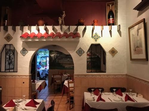 Café Espanol餐馆内部