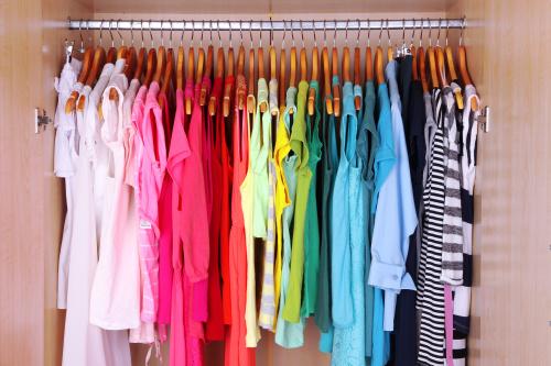 衣服色系的选择是性格的体现