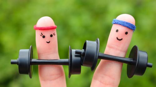 1分钟健身操,使血管变年轻,预防心血管疾病。