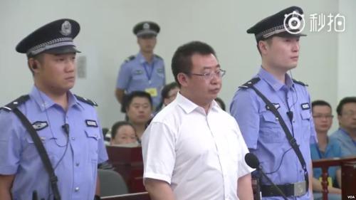 著名中国维权律师江天勇被控煽动颠覆国家政权。