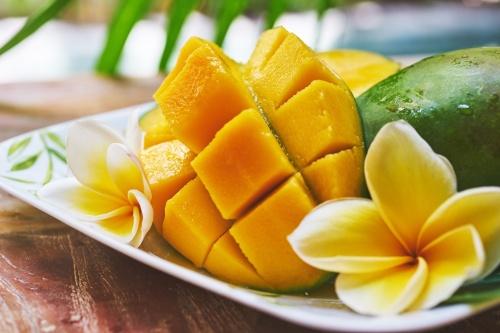 香甜可口的芒果,深受大�喜�邸�