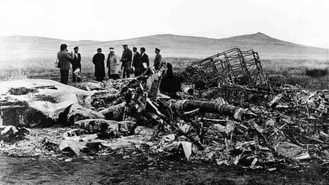 1971年9月13日凌晨,���Q是林彪乘坐的�w�C��落在蒙古�|部。