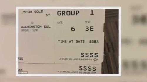 登机牌有这串字符 暗示你已被盯上