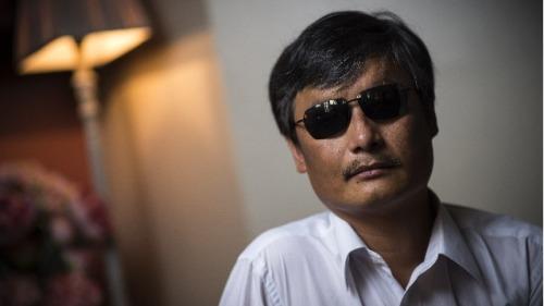 中國盲人維權律師陳光誠