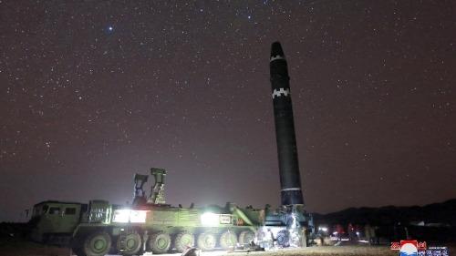 北韩正拆除飞弹发动机测试场(图)