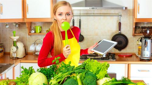 几乎所有的深绿色蔬菜含钙量都很高。